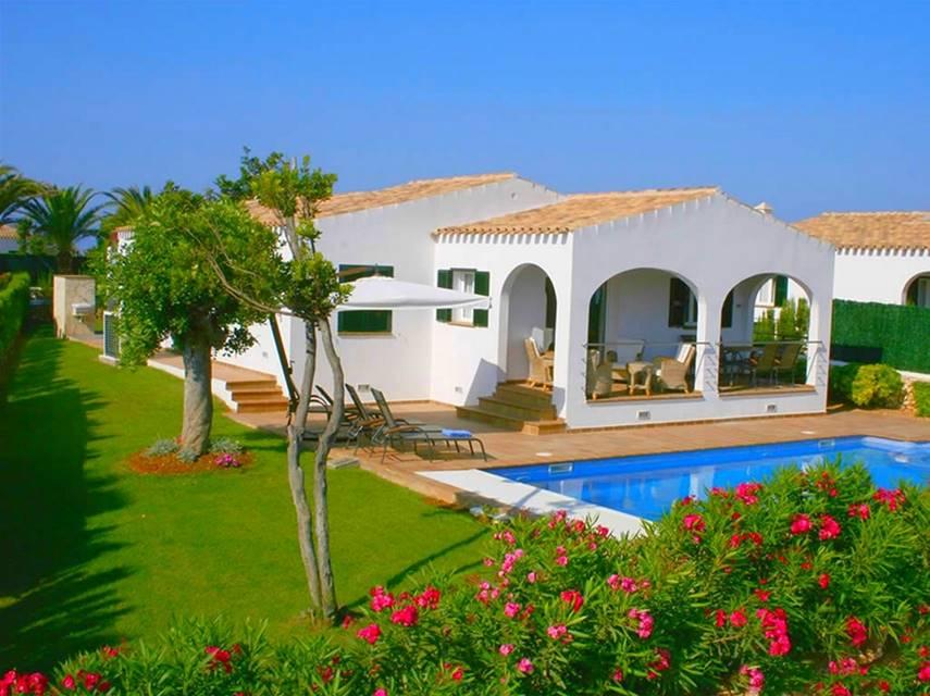 Villa finesse alquiler de lujo en son bou con menorca rentals - Casas de lujo en menorca ...