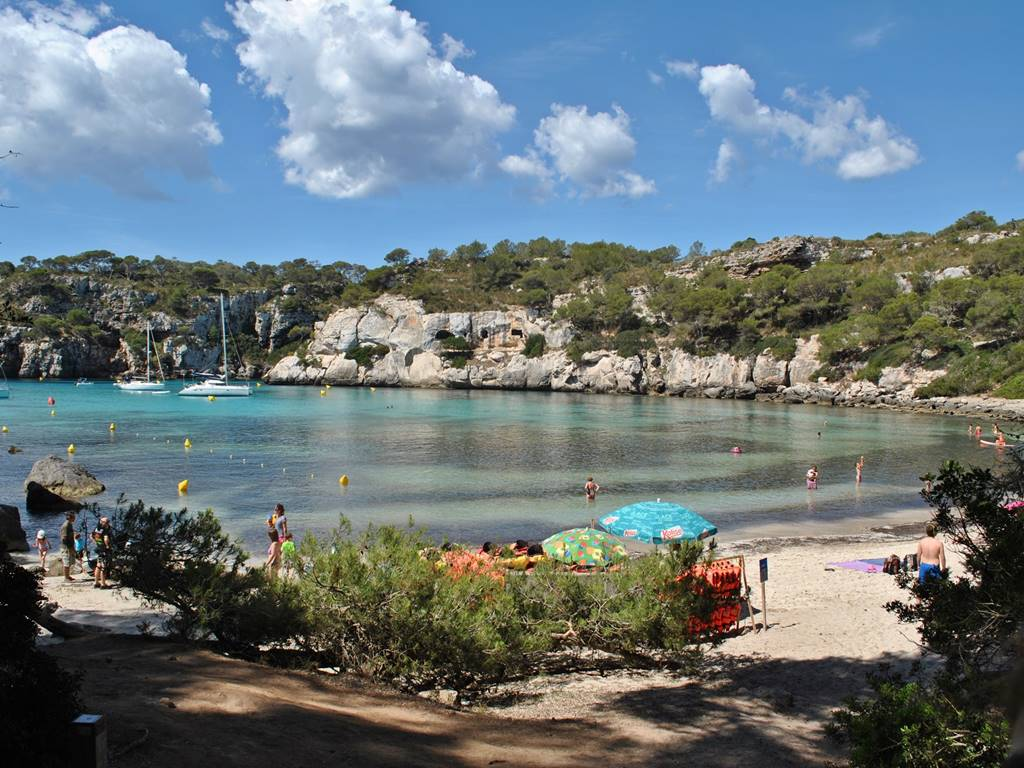 Be tempted by Menorca's unique unspoiled beaches